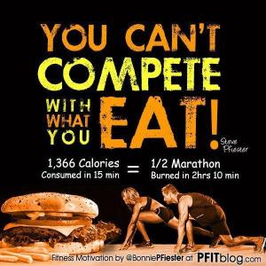 compete with what you eat