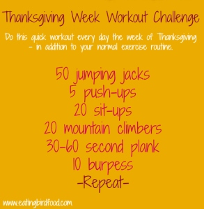 Thanksgiving-workout-challenge